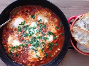 spanish eggs recipe