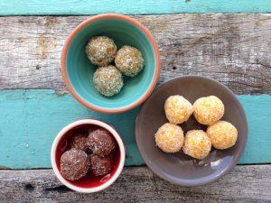 coconut apricot balls
