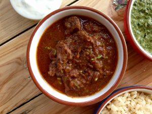 Best beef vindaloo curry