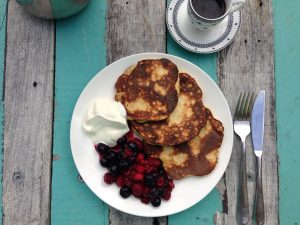 Paleo whole food pancakes