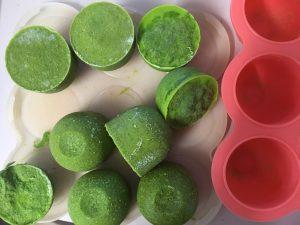 Freezer salsa verde